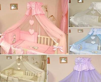 BIG CANOPY, MOSQUITO NET 480CM WIDE / NO OR WITH HOLDER, ROD TYPE TO CHOOSE - babycomfort.co.uk