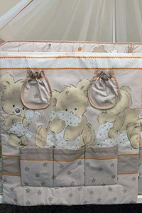 Nursery Baby Cot Tidy / Organiser for Cot/ Cotbed/ Cot Bed - babycomfort.co.uk