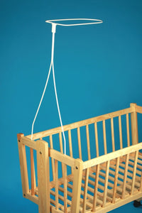 Universal Canopy Drape Holder, Rod, Pole, Bar Fits Baby Cot, Bed, Crib, Basket - babycomfort.co.uk