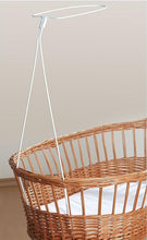 Load image into Gallery viewer, Universal Canopy Drape Holder, Rod, Pole, Bar Fits Baby Cot, Bed, Crib, Basket - babycomfort.co.uk