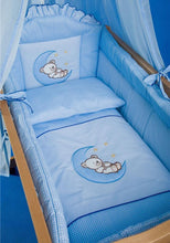 Load image into Gallery viewer, Deluxe Crib Bedding Accessories / Cradle Bumper Set, Canopy, Holder - babycomfort.co.uk