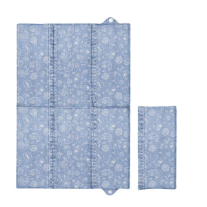 Foldable Baby Travel Changing Mat Soft Waterproof Portable Diaper Nappy Changer - babycomfort.co.uk