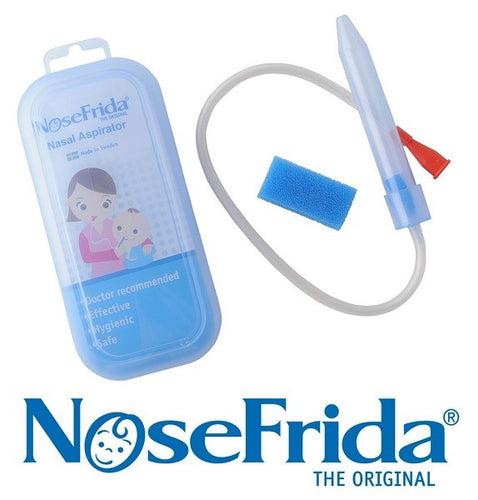 Nosefrida Baby Nasal Aspirator Blocked and Runny Nose Mucus Snot Cleaner - babycomfort.co.uk