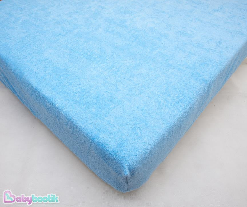 Waterproof Mattress Protector Cover Cot 120x60 Cot Bed 140x70 Baby Fitted Sheet - babycomfort.co.uk
