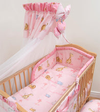 Load image into Gallery viewer, Chiffon Canopy Drape Mosquito Net + Holder Fits Baby Nursery Cot Bed - babycomfort.co.uk