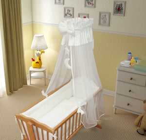 10 Piece Crib Bedding Set 90x40 cm Nursery for Baby in Various Designs / Colours - babycomfort.co.uk
