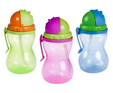 Load image into Gallery viewer, Baby Non-Spill Cup 370 ml Drinking Bottle with Straw - - babycomfort.co.uk