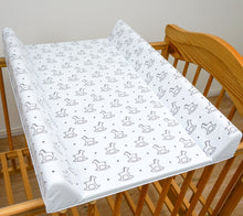 Load image into Gallery viewer, Baby Hard Base Changing MAT/TOP Changer 70x50 cm fits 120 x 60 cm Cot