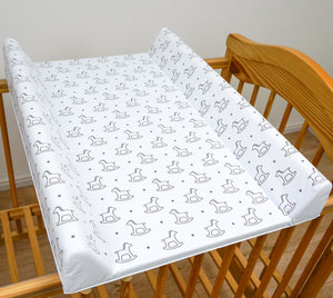 Baby Hard Base Changing MAT/TOP Changer 70x50 cm fits 120 x 60 cm Cot