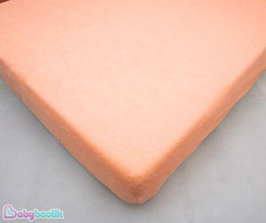 Terry Towelling Fitted Sheet 140x70 Nursery Baby Cot/ Cot Bed/ Mattress/ Bedding - babycomfort.co.uk