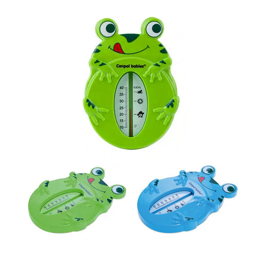Baby Bath Floating Thermometer Frog Safe Water Temperature