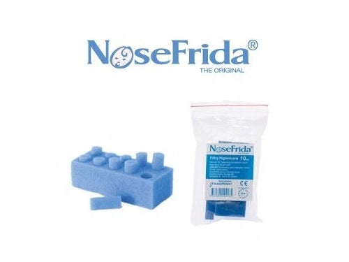 Disposable Filters for Nosefrida Baby Nasal Aspirator (Pack of 10) - babycomfort.co.uk