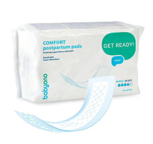 10 PCS Postpartum Super Absorbent Hygiene Maternity Pads - babycomfort.co.uk