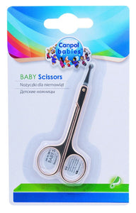 Safe Newborn Baby Manicure Safety Nail Scissors - babycomfort.co.uk