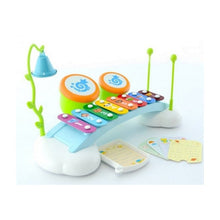 Load image into Gallery viewer, Educational Musical Drum, Xylophone, Cymbal Fun Toy for Toddlers/Babies 18 Months+