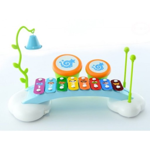Educational Musical Drum, Xylophone, Cymbal Fun Toy for Toddlers/Babies 18 Months+