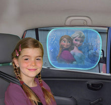 Load image into Gallery viewer, Disney Baby Children Kids Car Window Sun Shades Blinds UV Protection (Pack of 2) - babycomfort.co.uk