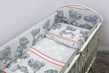 Load image into Gallery viewer, 6 Pcs Nursery Baby Cot Bedding Set, All-Round Bumper 360cm, 120x60cm - Mika - babycomfort.co.uk