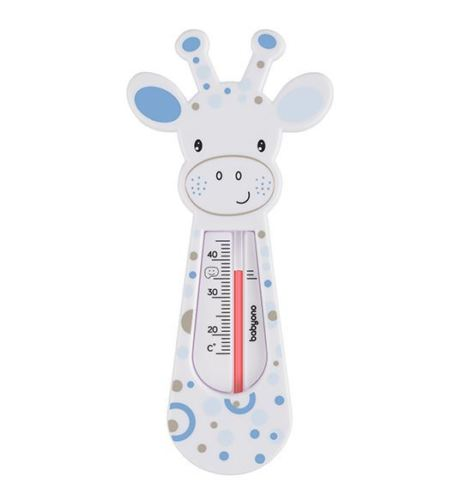 Baby Safe Bath Thermometre Float Floating Water Temperature - Giraffe Lilac - babycomfort.co.uk