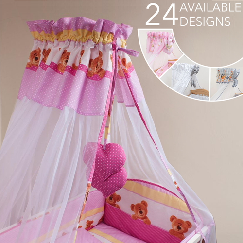 Chiffon Canopy / Tulle Drape No Holder 200 x 160 cm - babycomfort.co.uk