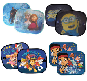 Disney Baby Children Kids Car Window Sun Shades Blinds UV Protection (Pack of 2) - babycomfort.co.uk