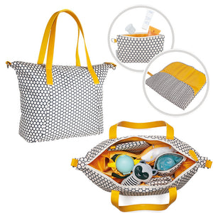 Stylish Travel Bag Organiser for Baby Pram Buggy Pushchair Stroller - - babycomfort.co.uk