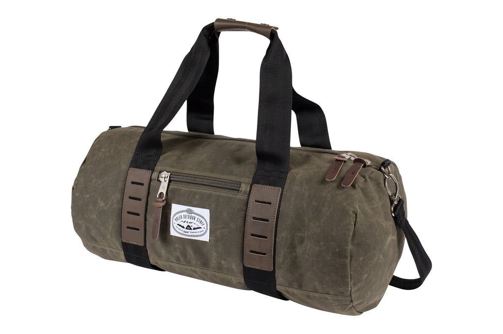 Classic Waxed Carry-On Duffel
