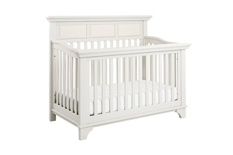 MILLION DOLLAR BABY Arcadia 4-in-1 Convertible Crib (with Toddler Bed Conversion Kit)