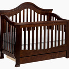 MILLION DOLLAR BABY Ashbury 4-in-1 Convertible Crib (with Toddler Bed Conversion Kit)