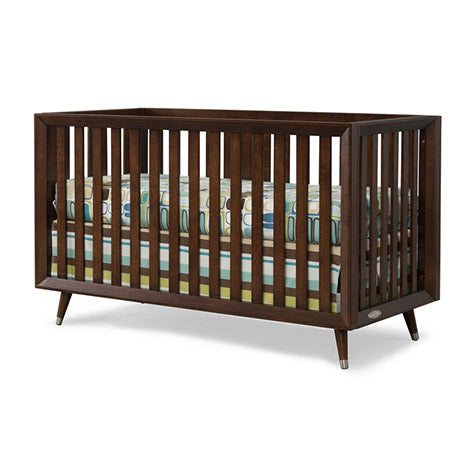 Child Craft Legacy Euro 4-in-1 Convertible Crib in Chocolate
