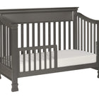 MILLION DOLLAR BABY Foothill 4-in-1 Convertible Crib (with Toddler Bed Conversion Kit)