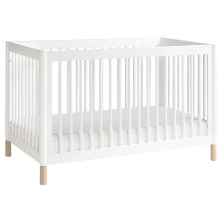BABYLETTO Gelato 4-in-1 Convertible Crib (with Toddler Bed Conversion Kit and Full-Size Option)