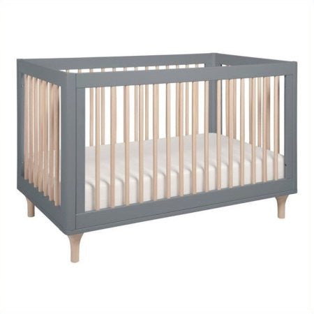 BABYLETTO Lolly 3-in-1 Convertible Crib (with Toddler Bed Conversion Kit)