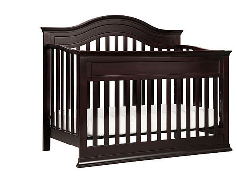DA VINCI BABY Brook 4-in-1 Convertible Crib (with Toddler Bed Conversion Kit)