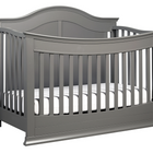DA VINCI BABY Meadow 4-in-1 Convertible Crib (with Toddler Bed Conversion Kit)