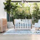 NURSERY WORKS Novella 3-in-1 Convertible Crib (with Conversion Kit)