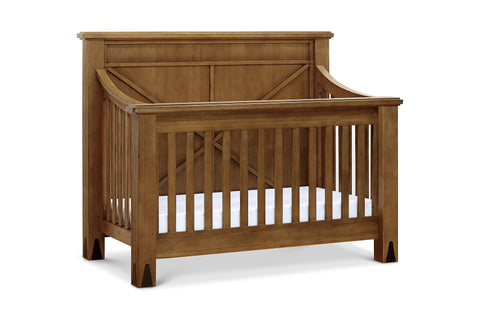 FRANKLIN & BEN Providence 4-in-1 Convertible Crib (with Toddler Bed Conversion Kit)