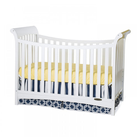 Child Craft Ashton 3-in-1 Traditional Crib in Matte White