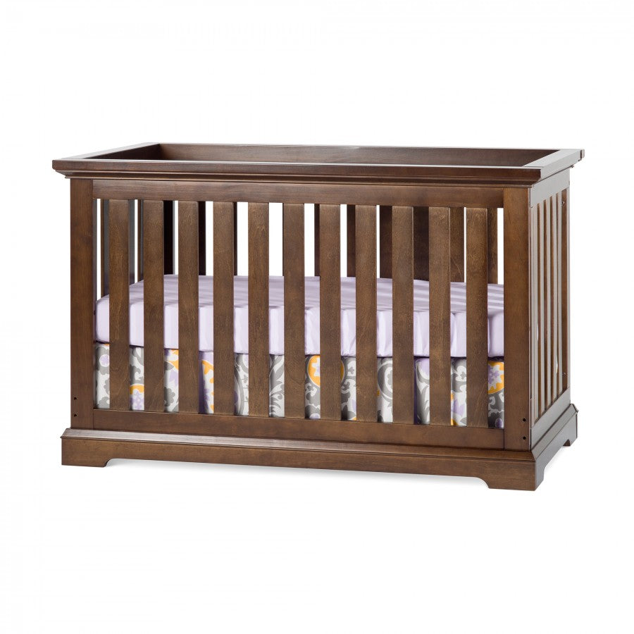 Child Craft Kayden 4-in-1 Convertible Crib in Slate