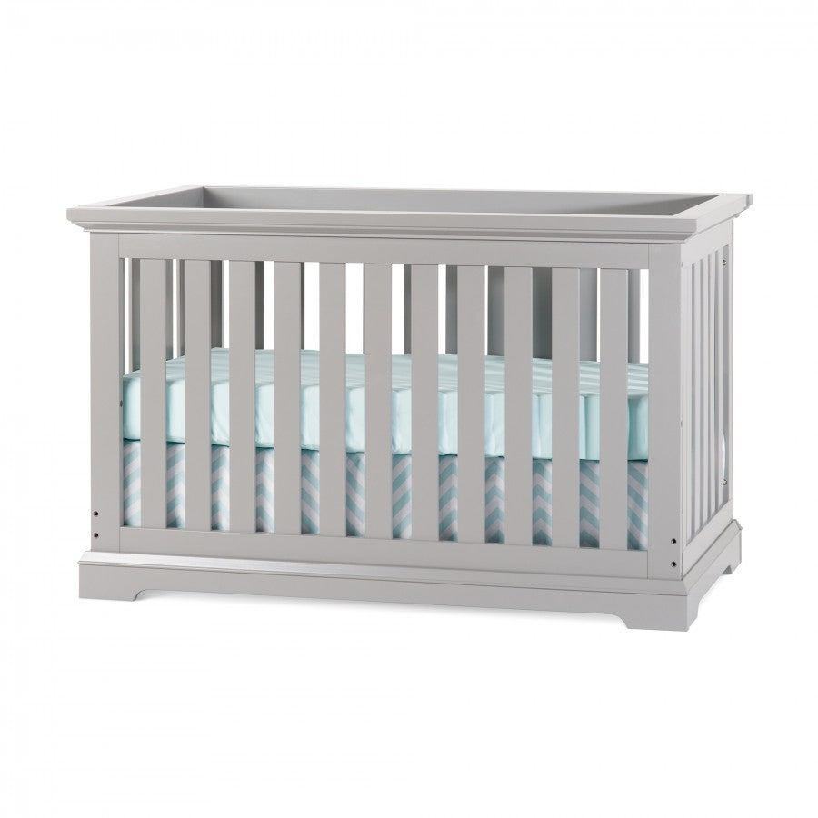 Child Craft Kayden 4-in-1 Convertible Crib in Cool Gray
