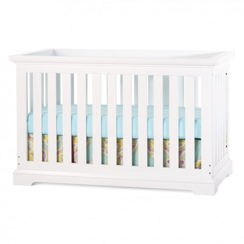 Child Craft Kayden 4-in-1 Convertible Crib in Matte White