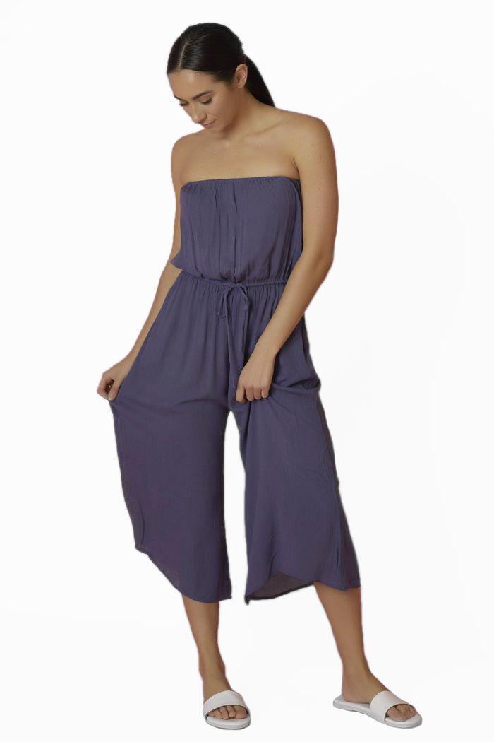 Elan Romper Culotte With Ties - Love Leeann