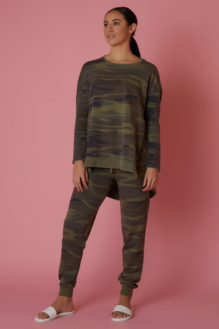 Z Supply Camo Weekender Top - Love Leeann