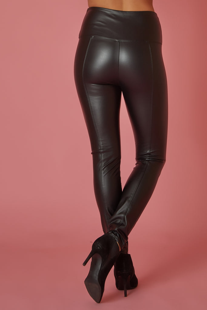 Lysee Vegan Leather Legging - Love Leeann