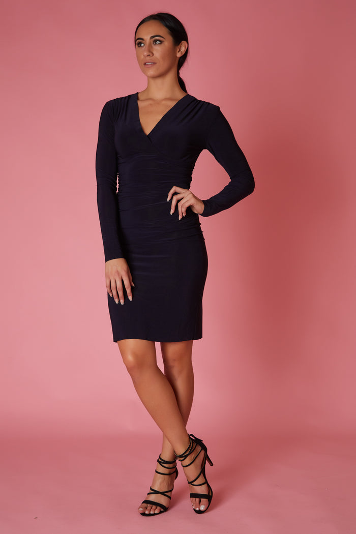 Norma Kamali Mini Banded Dress - Love Leeann
