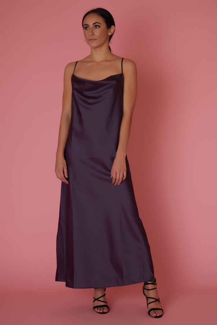 Bishop+ Young Cowl Neck Slip Dress - Love Leeann