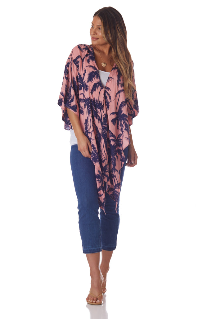 XIX Palms Bermuda Top - Love Leeann