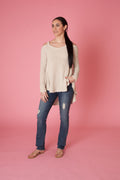 Cold Shoulder Sweater - Love Leeann