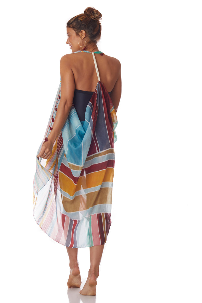Pool to Party Multi Color Vest - Love Leeann