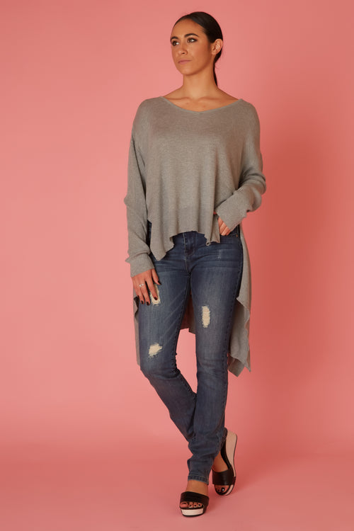 High Low Knit - Love Leeann